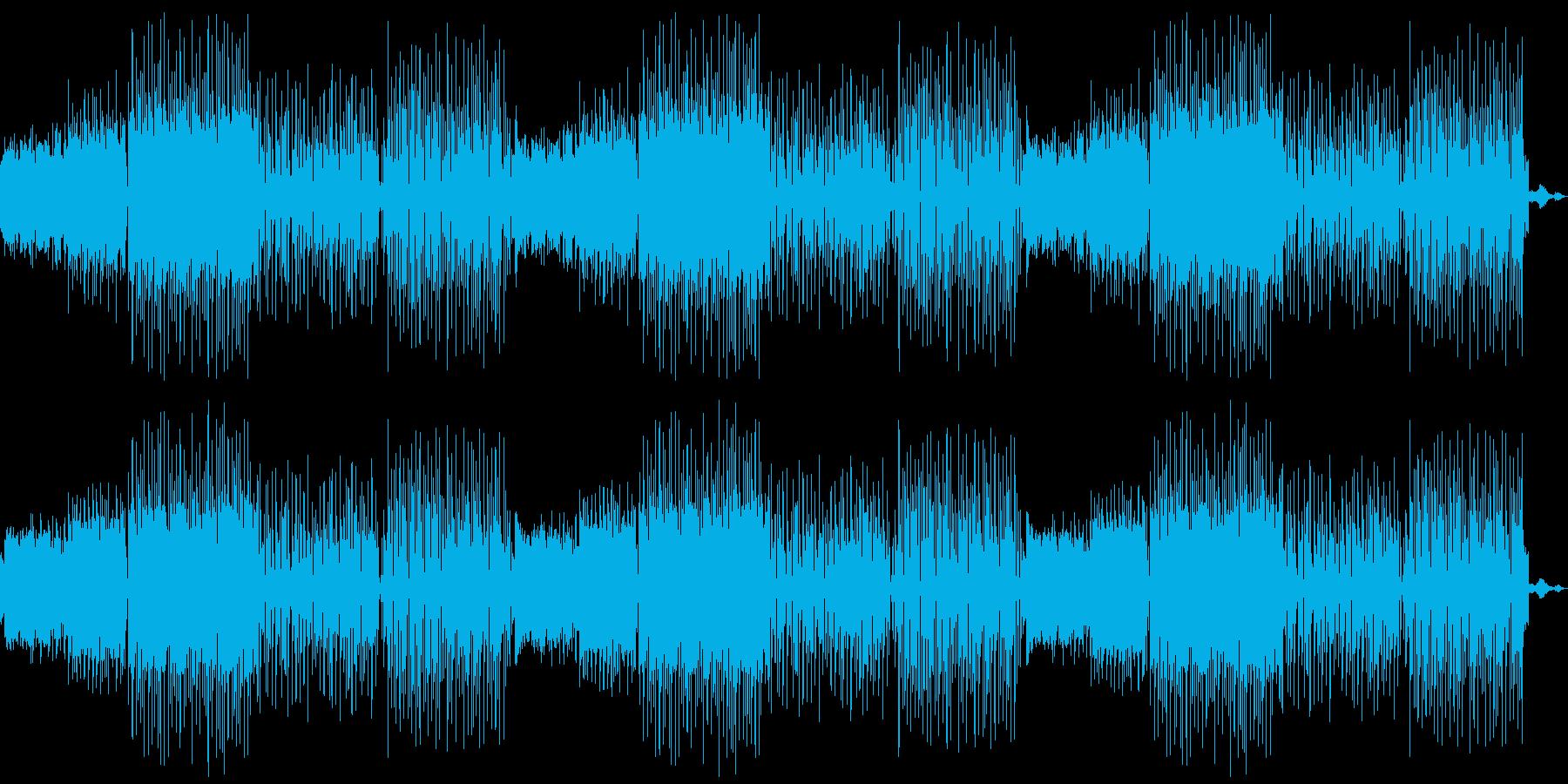 閉店BGM向け蛍の光アレンジ音素材02の再生済みの波形