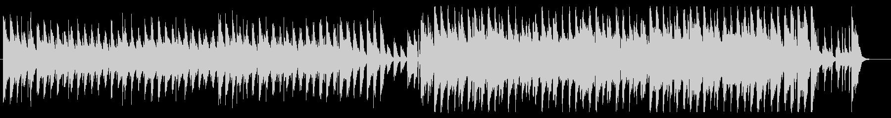 軽快、ハッピー、ポップ、ピアノ、ギターの未再生の波形