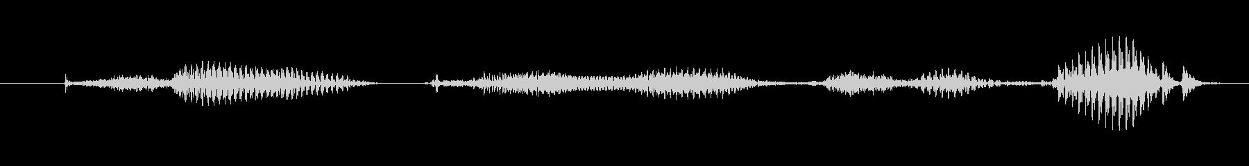【日数・後】9ヶ月後の未再生の波形