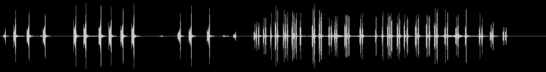 クライマーの未再生の波形
