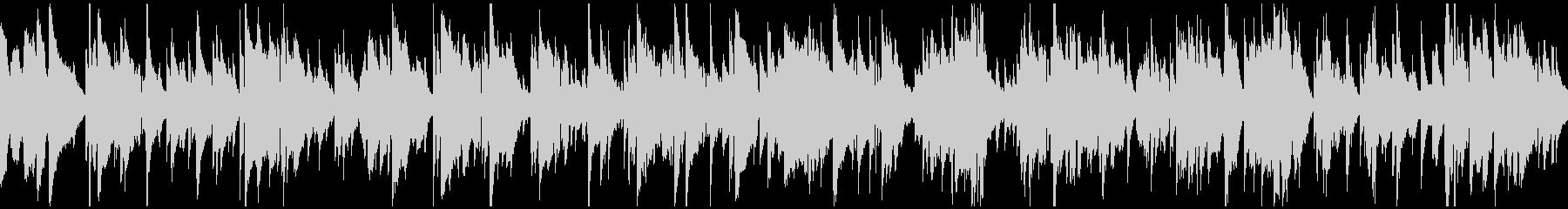 ロマンチックなサックスバラード※ループ版の未再生の波形