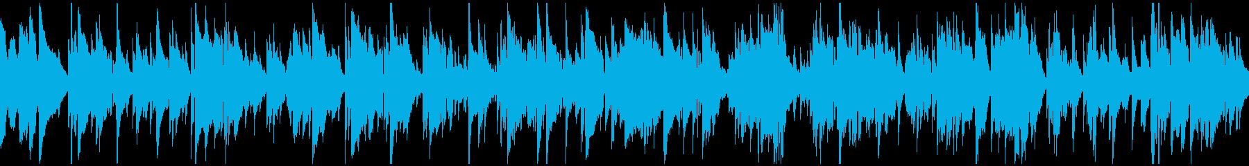 ロマンチックなサックスバラード※ループ版の再生済みの波形