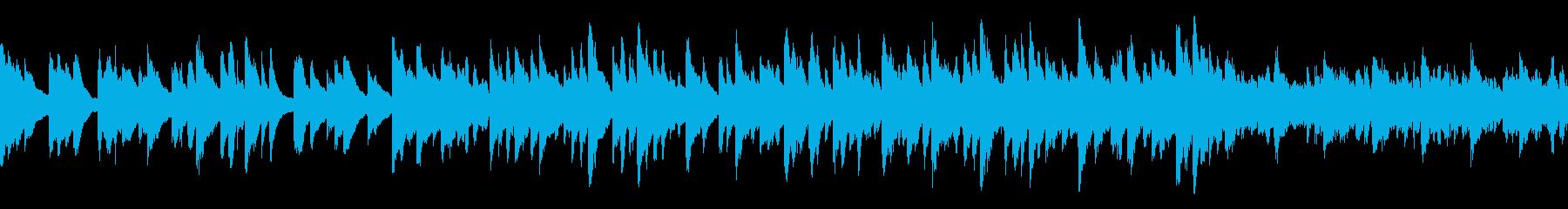 [Loop]物悲しいピアノヒーリングの再生済みの波形