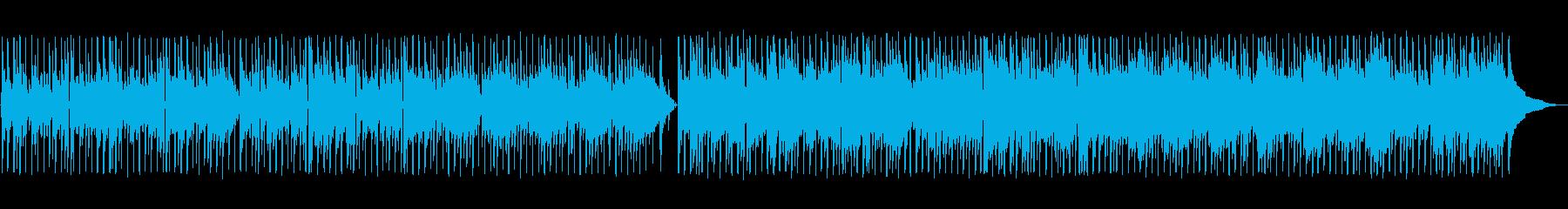 しっとり切ないアコギの再生済みの波形