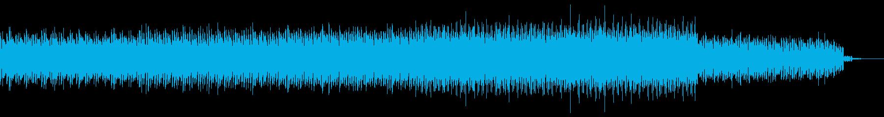作戦エントリー画面向けテクノアンビエントの再生済みの波形