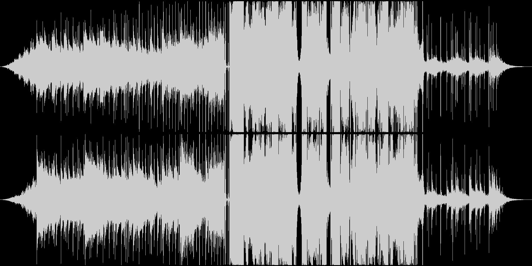 ゆったりクールなシンセサウンドの未再生の波形