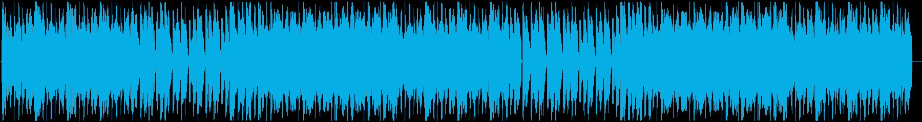 クールでカッコいいダブステップの再生済みの波形