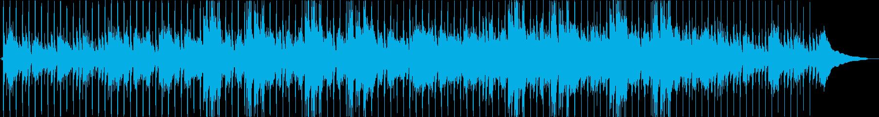 アコースティックなまったりポップスの再生済みの波形