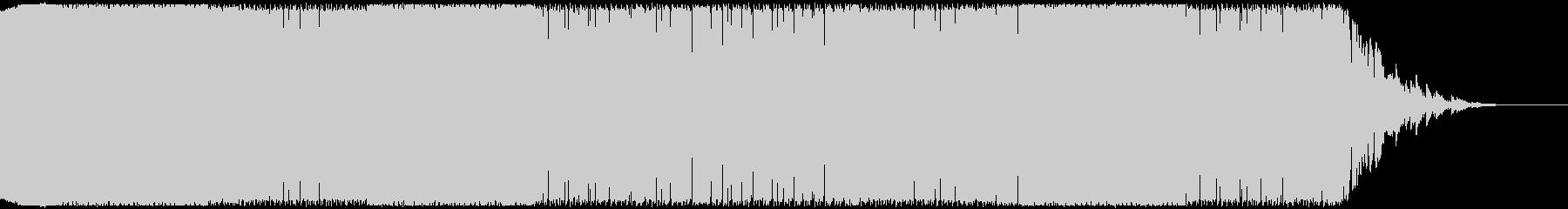 戦闘シーンや緊迫した場面のBGMの未再生の波形