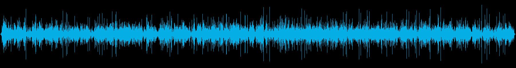 小さな花火の線香花火またはフレア:...の再生済みの波形