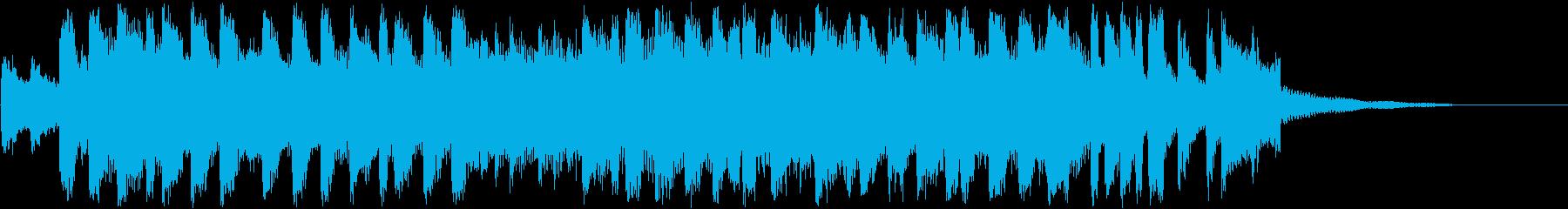 アイドル・テーマソング・OP・EDの再生済みの波形