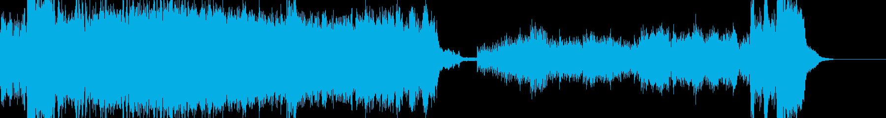 ピアノと弦が組み合わさって、印象的...の再生済みの波形