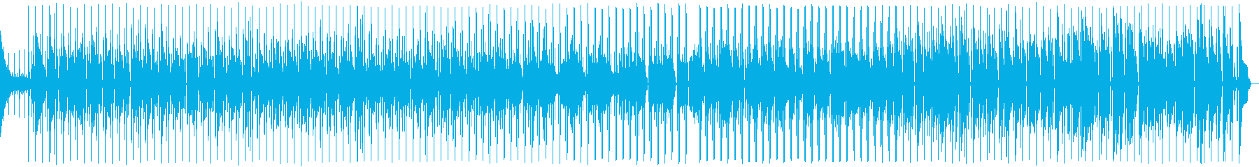 クラリネット、エレキギター、ベース...の再生済みの波形
