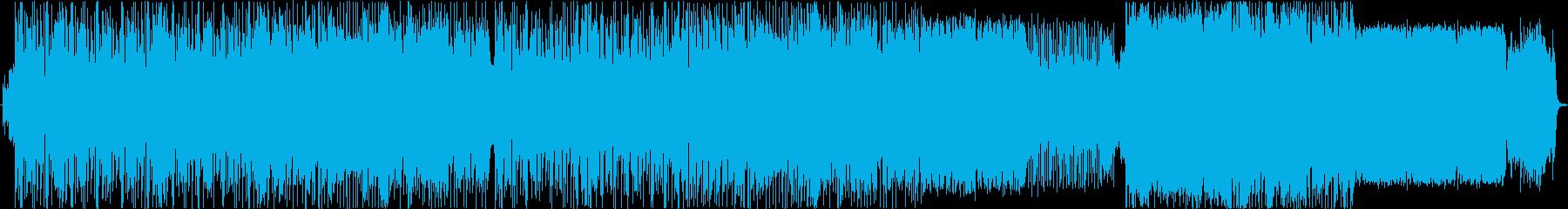 70 'スタイル。の再生済みの波形