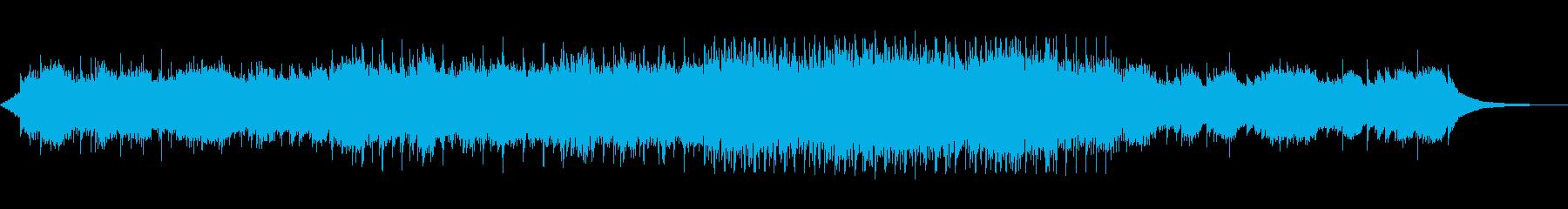 bpm84悲し気なピアノ+アコギ+テクノの再生済みの波形