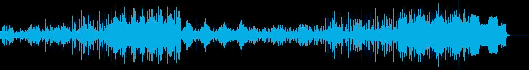 未来的な移動シーンに最適なテクノロックの再生済みの波形
