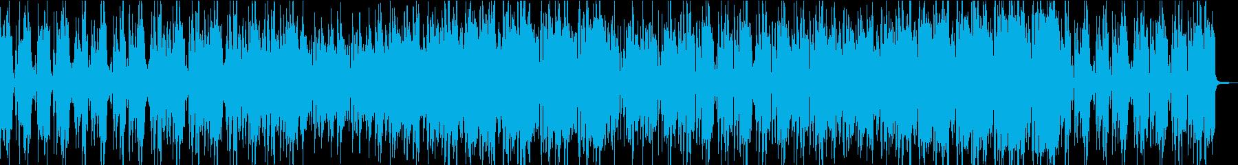 ブルージーなアップテンポビッグバンドの再生済みの波形
