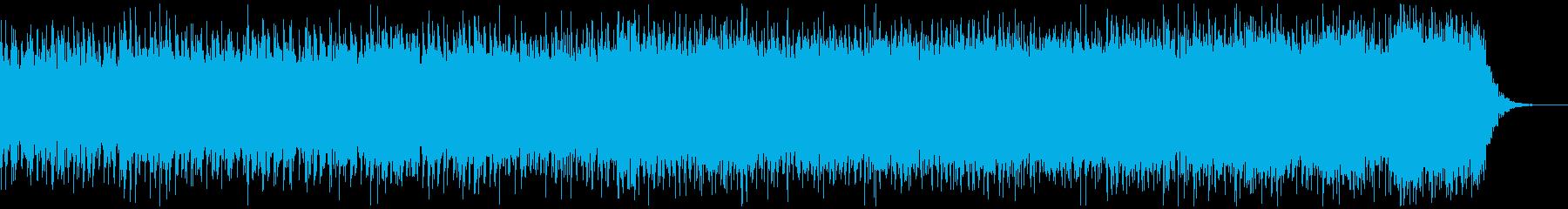 【近未来的】オシャレ、IT,AIデジタルの再生済みの波形