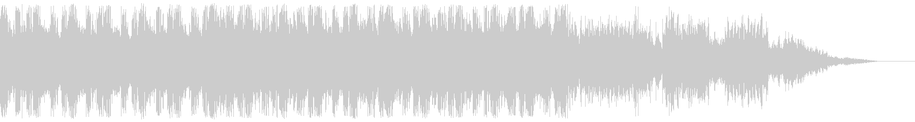 近未来的、クールなデジタルサウンドの未再生の波形