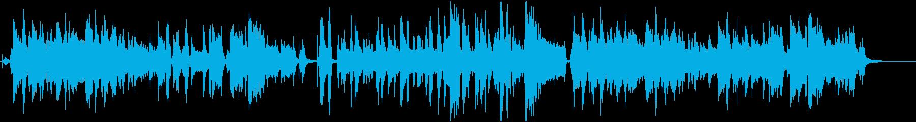 おはぎをテーマにした楽曲の再生済みの波形