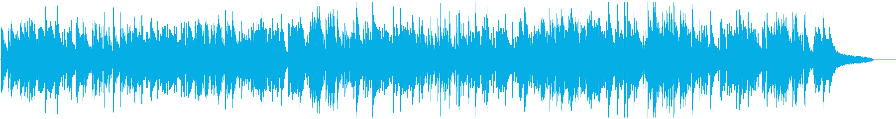 しっとりしたスローテンポな冬のボサノバの再生済みの波形