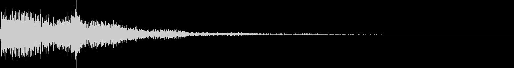 琴と太鼓の和風インパクトジングル! 01の未再生の波形