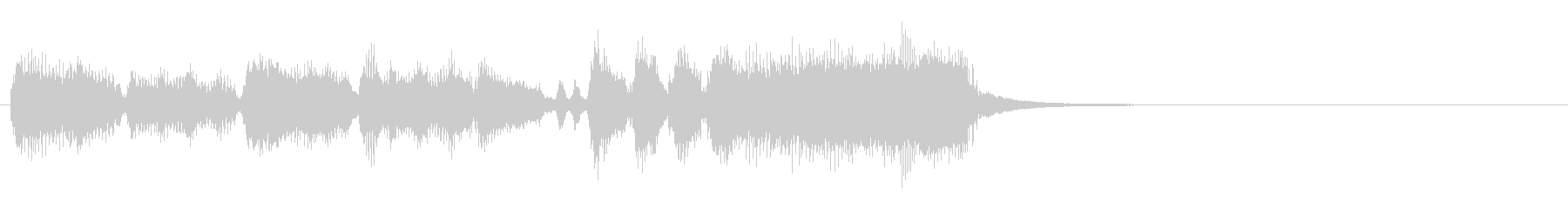 Wedding and couple birth! Fanfare's unreproduced waveform