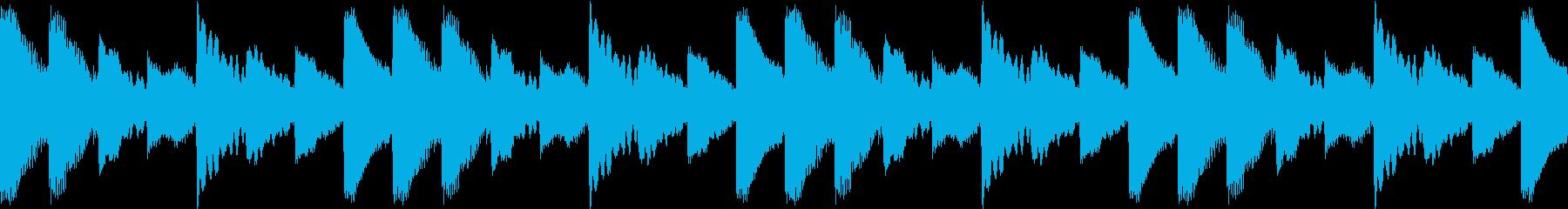 Psycho サイコスリラー BGMの再生済みの波形