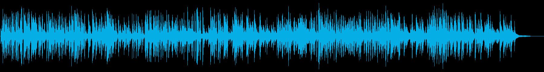 美しいアコースティックピアノジャズトリオの再生済みの波形
