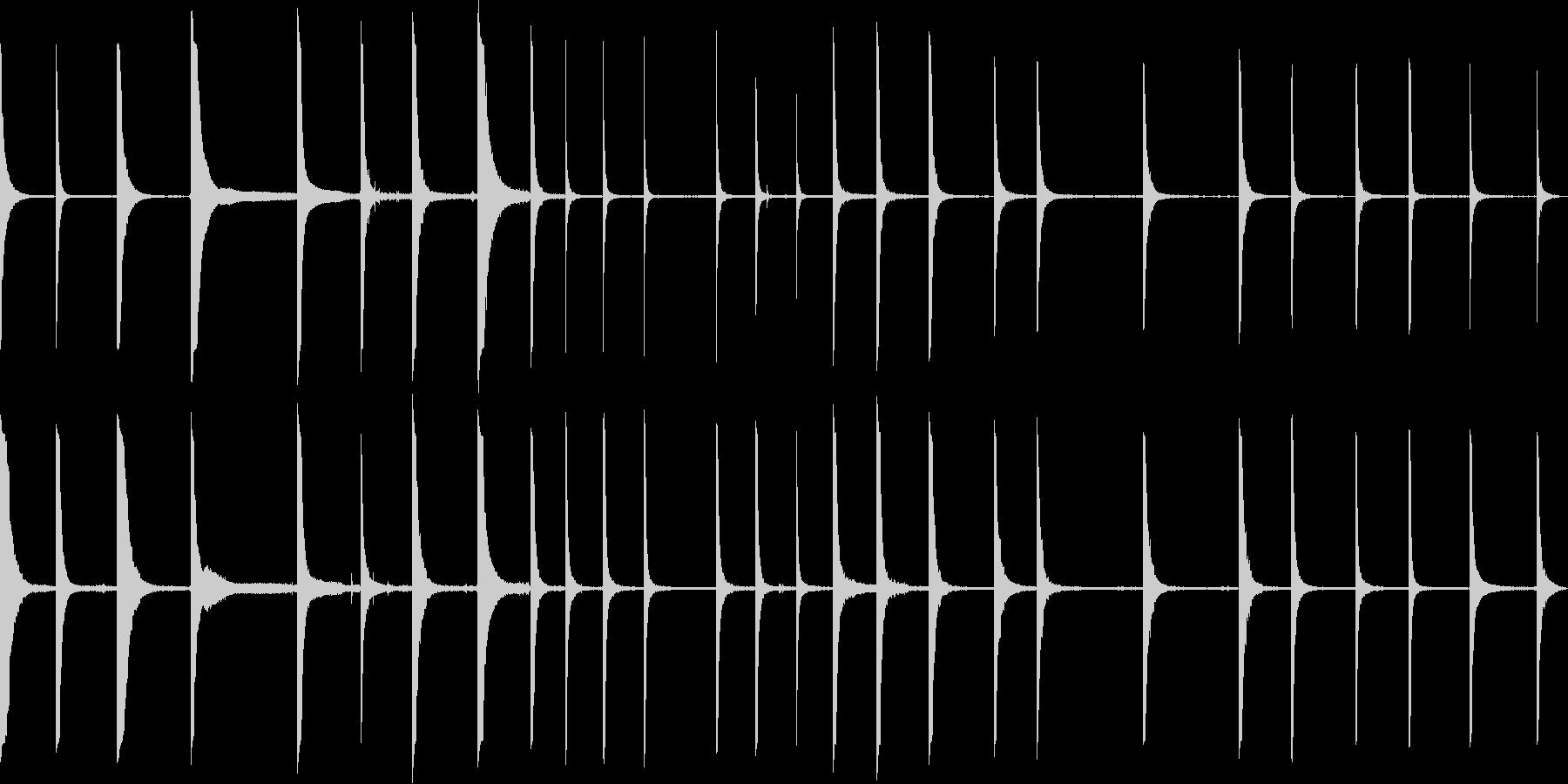 さまざまな金属クランクpingの未再生の波形