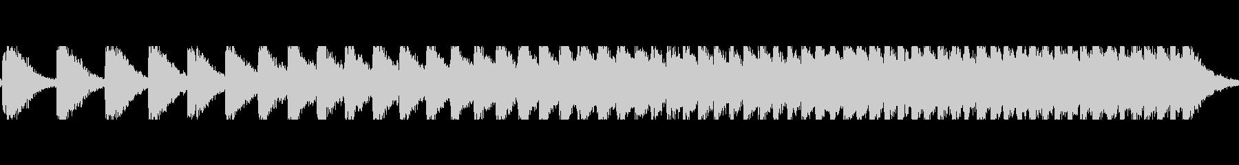 トーンスコアブザーワイルドの未再生の波形