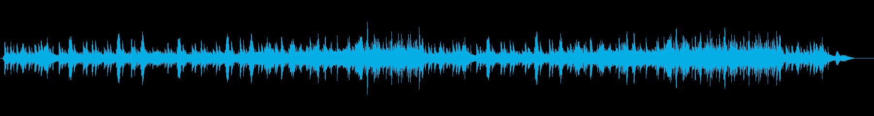 透明感を持ったセンチメンタルなバラードの再生済みの波形