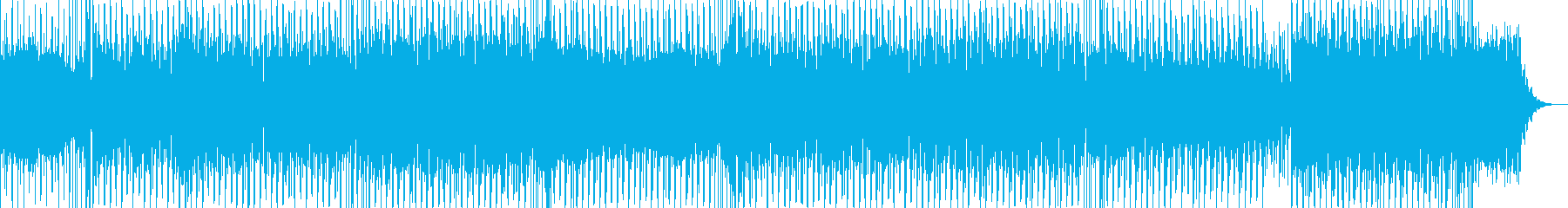 おしゃれで切ない感じのポップスの再生済みの波形