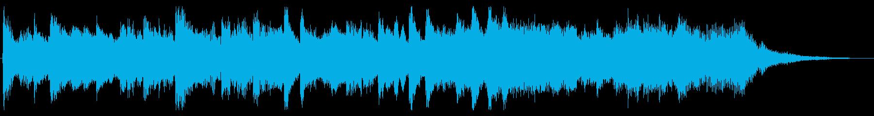 【企業様VP】爽やかなピアノメロディの再生済みの波形