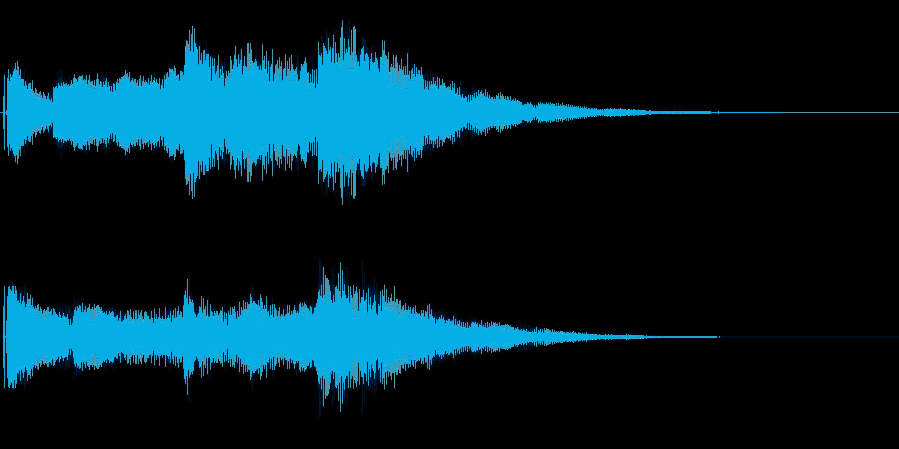 オープニング用ジングル90/ショートの再生済みの波形