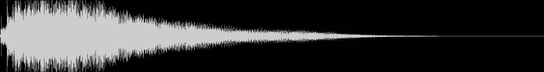 ジャラーン:アコースティックギターdの未再生の波形