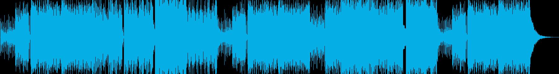エキサイティング、実験的、攻撃的、...の再生済みの波形