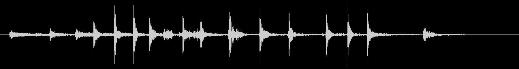 小さい金属スプリング:短いストレッチの未再生の波形