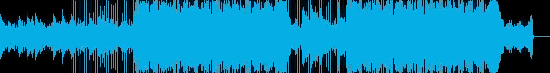 企業VP向け、爽やかポップ4つ打ち9-1の再生済みの波形