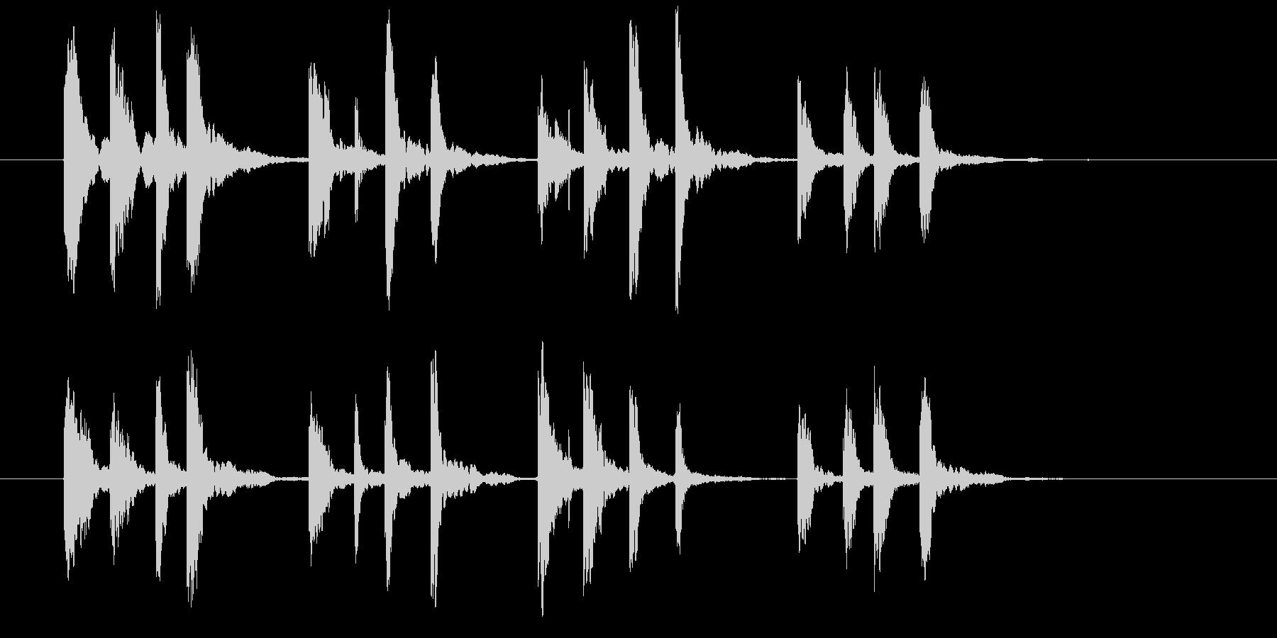 ドリームサウンドの未再生の波形