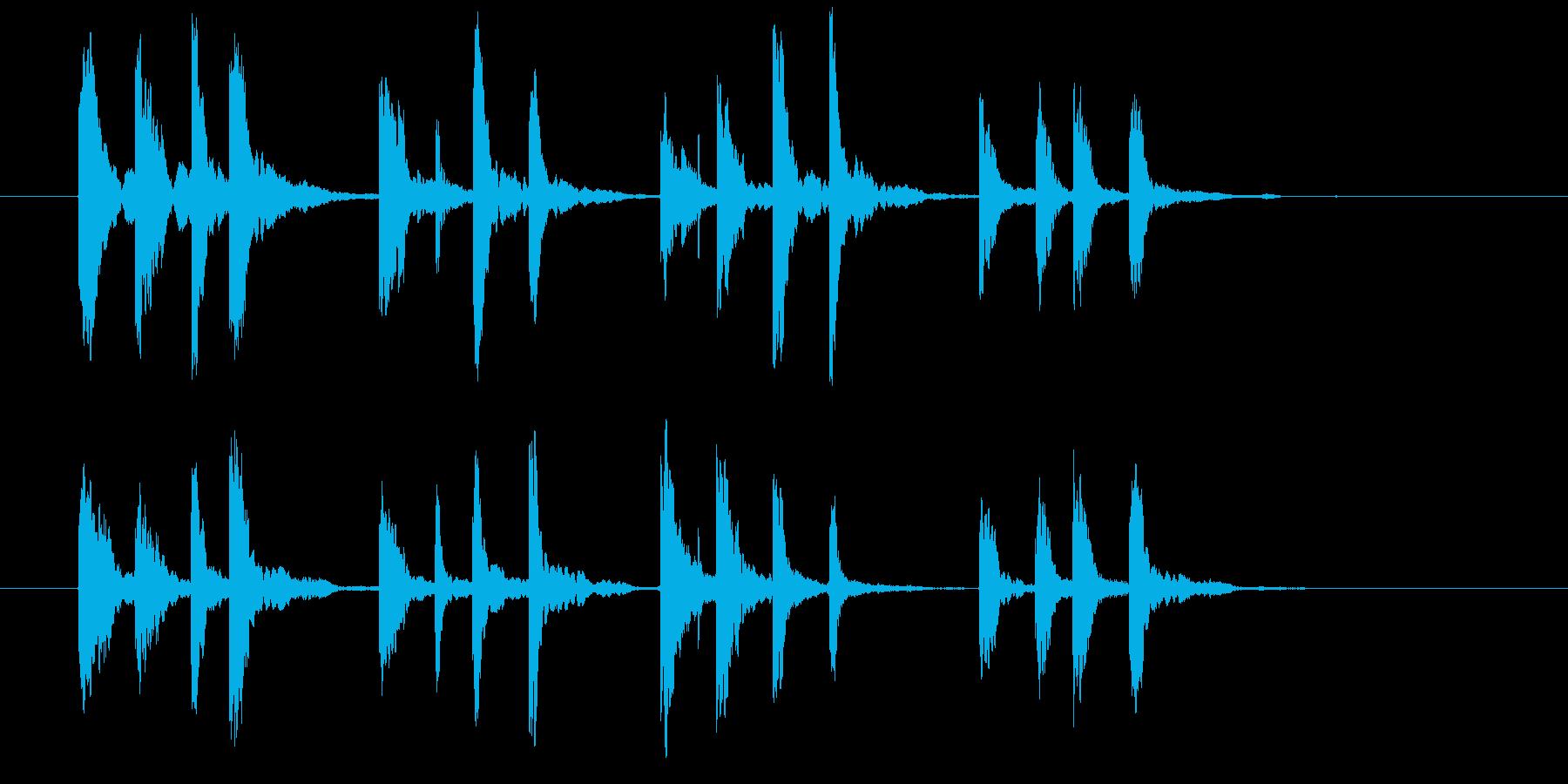 ドリームサウンドの再生済みの波形
