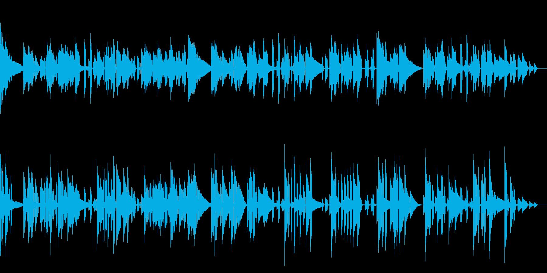 ジャズギターを使ったライブラリーですの再生済みの波形
