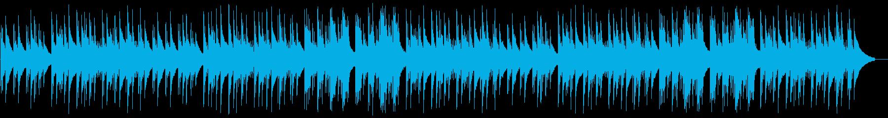 【リズム無し】森/癒されるヒーリングの再生済みの波形