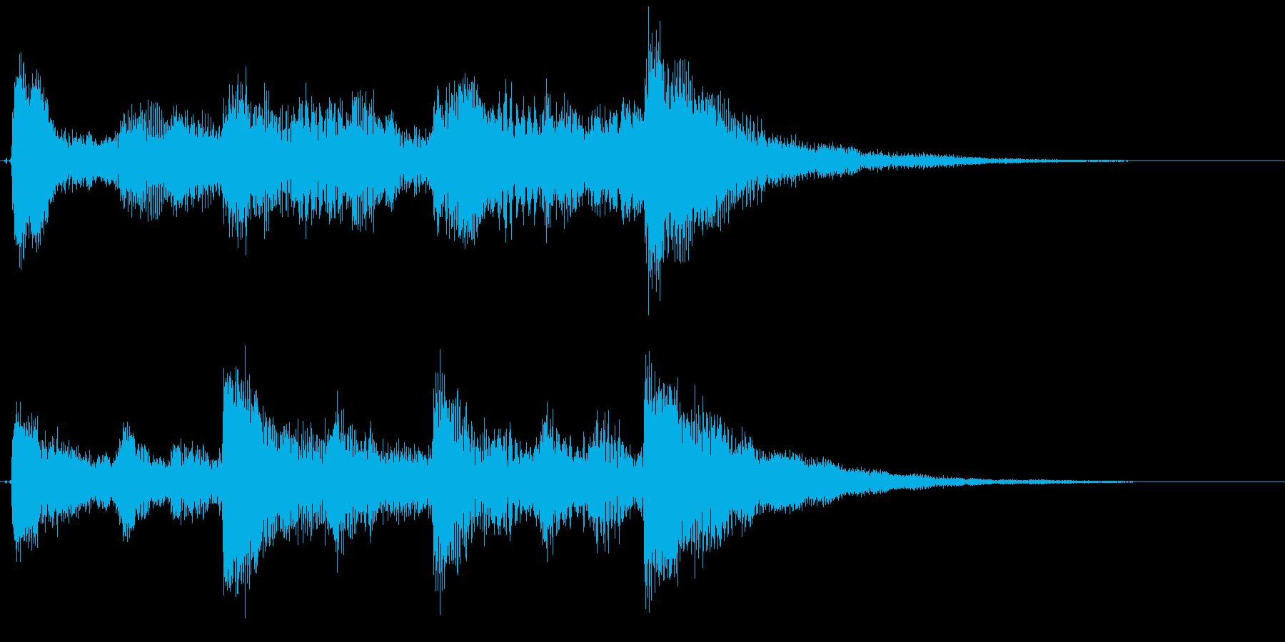 オープニング用ジングル100/ロングの再生済みの波形