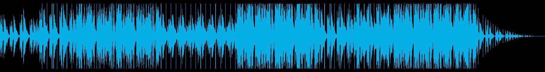 穏やか日常の再生済みの波形