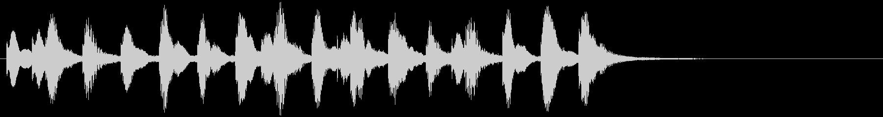 のほほんジングル035_おしまい-3の未再生の波形