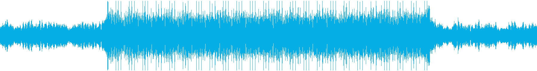 Cyber, dark techno trance's reproduced waveform