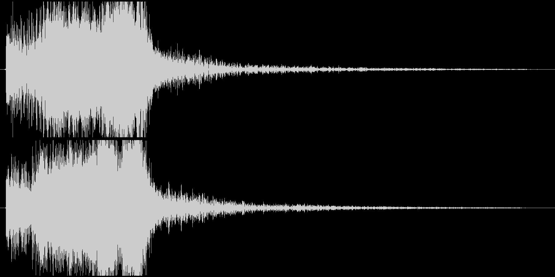 パワージングル シンセ SE3の未再生の波形
