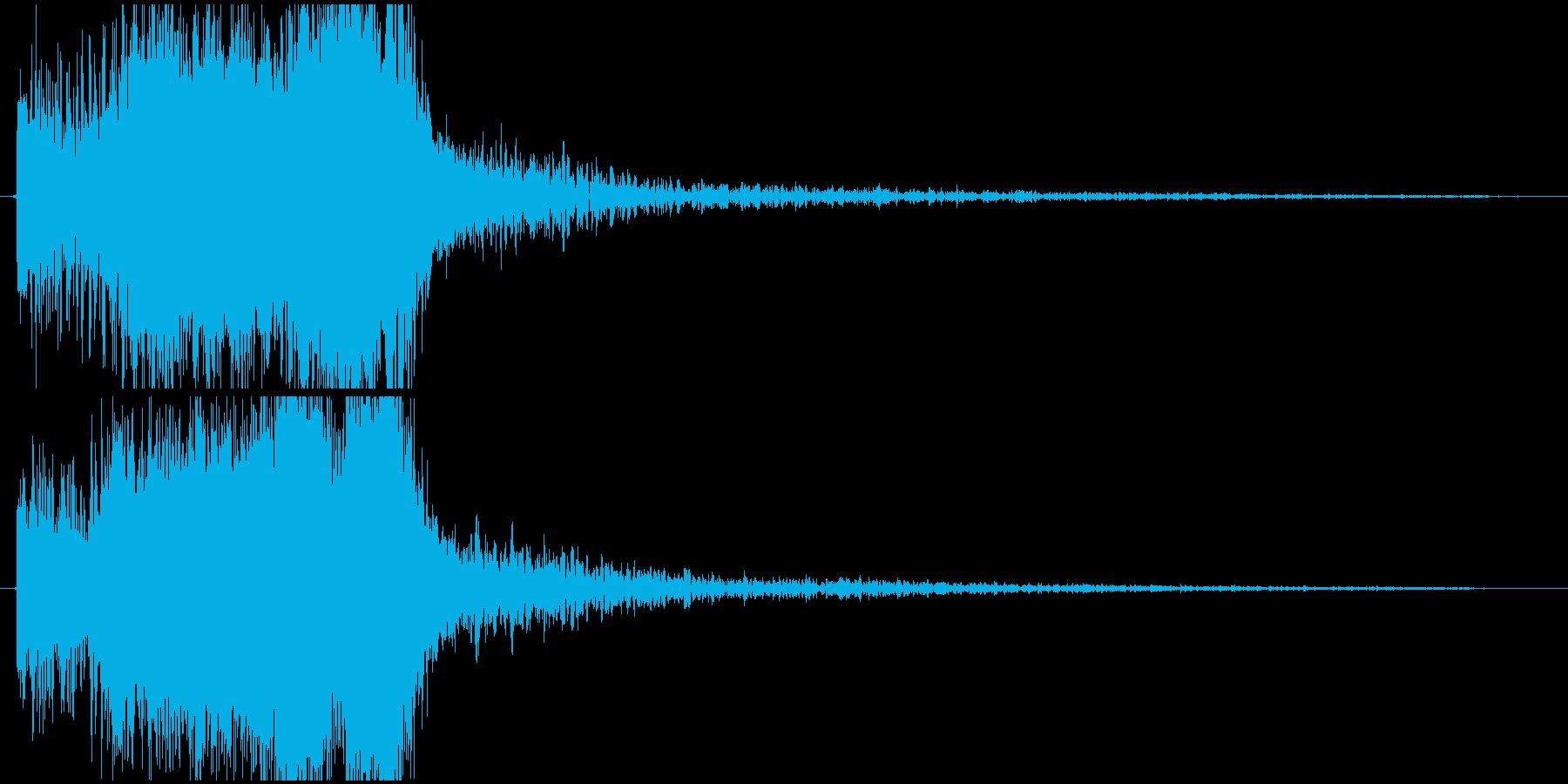 パワージングル シンセ SE3の再生済みの波形