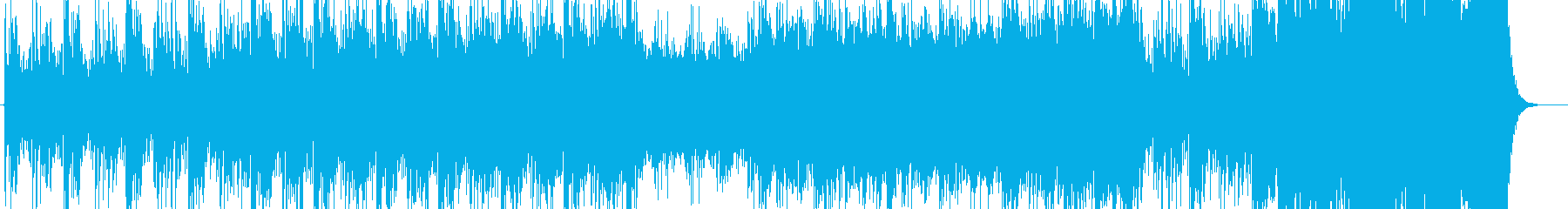 コロシアムでの戦いをイメージしたサントラの再生済みの波形